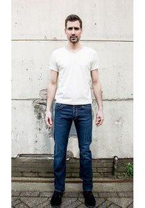 Men 5-Pocket Jeans Raw Blue - Mud Jeans
