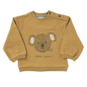 Baby u. Kinder Sweatshirt karamel kbA Baumwolle People Wear Organic - People Wear Organic