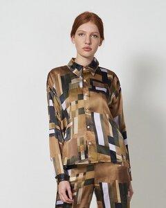 Bluse PHOEBE aus recyeltem Polyester - JAN N JUNE
