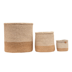 MBILI - Sisal Aufbewahrungs- & Pflanzkorb - S/M/L - the basket room