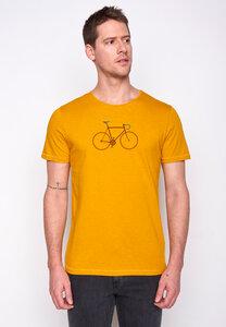 Herren Shirt 100% Biobaumwolle Bike Trip Spice GOTS Zertifiziert - GreenBomb