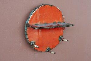 Aufhänger Schlüssel Ablage aus recycelten Ölfässern - versch. Farben - Industrial Design Upcycling - Moogoo Creative Africa