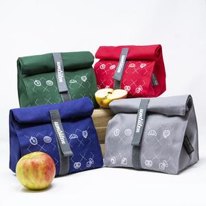 Familienpaket: 4 Snack Beutel / hält frisch mit Inlay / plastikfrei - umtüten