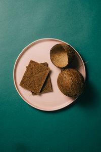 gaia Kokosfaser (Kokos) Schwamm für die Küche oder das Bad - gaia