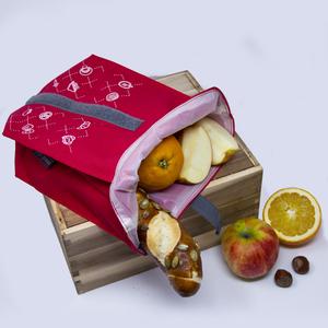 Snack Beutel für unterwegs / hält natürlich frisch / plastikfrei - umtüten