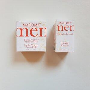Maroma Geschenkset MEN Seife und Parfum fair und vegan - MAROMA