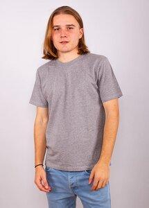 Mens T-Shirt Melange Grey - EarthPositive