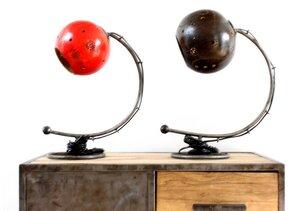 Kalebassen-Lampe 'Lulaca' (aus Flaschenkürbis) Upcycling - Moogoo Creative Africa