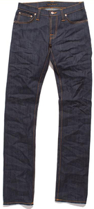 Thin Finn Organic Dry Ecru Emb - Nudie Jeans