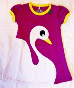 Ugly Duckling front Dress lila - Fred's World by Green Cotton
