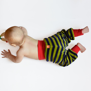 Baby Nickihose gestreift - Cmig