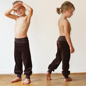 Kinder Nicki Hose braun - Cmig