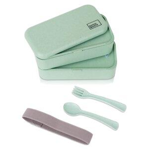 Avoidwaste nachhaltige Lunchbox mit Weizenstroh 900ml - Avoidwaste