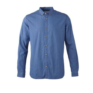 Button Down Denim Hemd - KnowledgeCotton Apparel