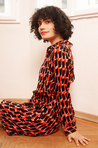 Hemdkleid Thuja mit Print - ME&MAY