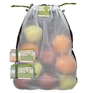 VeggieBag - 3er Pack rePETe™ - Netz - ChicoBag