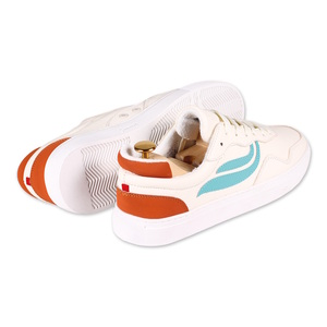 Sneaker - G-Soley - White/Turqouise/Orange - Genesis Footwear