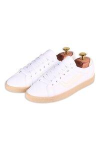 Veganer Sneaker - G-Hela Low Vegan - White/Offwhite - Genesis Footwear
