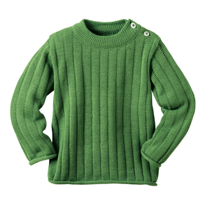 disana Uni-Pullover in grün - Disana