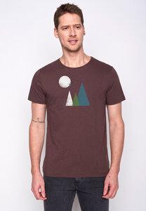 Herren Shirt 100% Biobaumwolle Nature Hills Spice GOTS Zertifiziert - GreenBomb