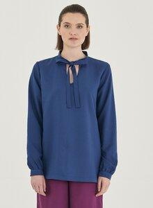 Langarm Bluse aus Tencel - ORGANICATION