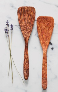 Kokosholz Pfannenwender handgefertigt Küchenhelfer - Balu Bowls