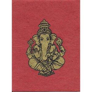 Briefkarte Ganesh in verschiedenen Farben - Just Be