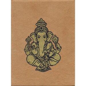 Briefkarte Ganesh - Just Be
