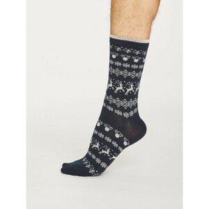 Reindeer Socken - Thought