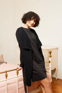 lange Strickjacke Edith aus Bio-Baumwolle - ME&MAY