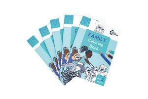 Family Coloring Book - Beim Ausmalen Diversität erleben! - Leona Games GmbH