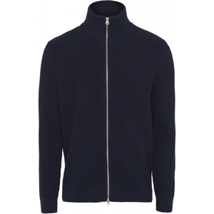 Valley Zip Cardigan Knit - Knowledge Cotton Apparel