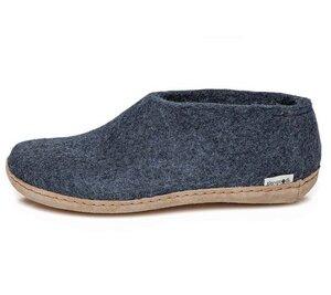 Hausschuhe Damen - The Shoe Leather - Leder - glerups