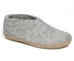 Hausschuhe Herren - The Shoe Leather - Leder - glerups