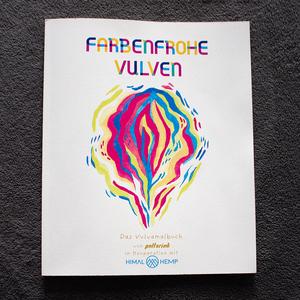HH Vulva-Malbuch auf Recycle-Papier von Polterink in Kooperation mit Himal Hemp - Himal Hemp