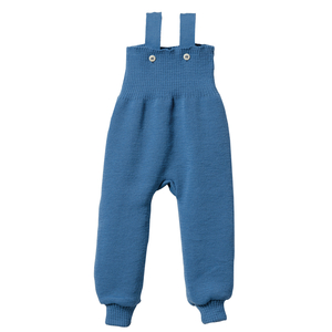 disana Strick-Trägerhose in blau - Disana