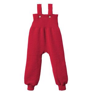 disana Strick-Trägerhose in rot - Disana
