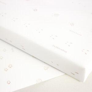 Mini-Geschenkpapier Spuren im Schnee - Bow & Hummingbird