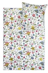 Cotton-Slub Bettwäsche 'Midsommar' Leinenoptik 135x200cm + 80x80cm 2-tlg. 100% Bio-Baumwolle Made in Green - jilda-tex