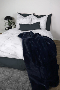 "Linon Bettwäsche ""Soft Marble"" 135x200cm +80x80cm 2-tlg. 100% Bio-Baumwolle Made in Green - jilda-tex"