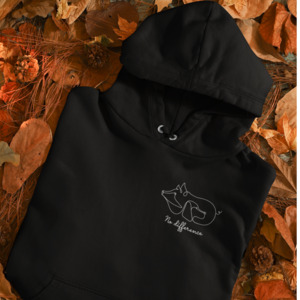 Organic Unisex Hoodie No difference - BVeganly
