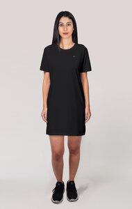Frauen Kurzarm Kleid, T-Shirt Kleid aus Bio Baumwolle - vis wear