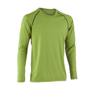 Engel sports Bio Shirt langarm lime regular fit - ENGEL SPORTS