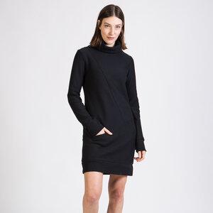 Kleid AQUA aus Bio-Baumwolle - Diagonal Stripes - Givn BERLIN