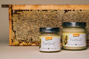 Geschenke-Set demeter Honig (versch. Sorten) aus Hamburg - wesensgemäße Bienenhaltung - 4peoplewhocare