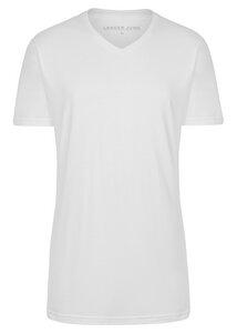 2er Pack - T-Shirts extra lang mit V-Ausschnitt - LANGER JUNG