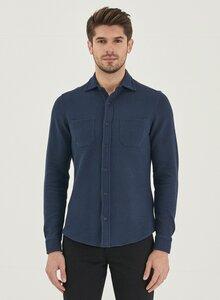 Langarm-Hemd aus Bio-Baumwolle - ORGANICATION