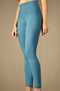 "Damen Yoga Leggings aus recyceltem Nylon/Elastan, Modell ""Lina"" - M23"