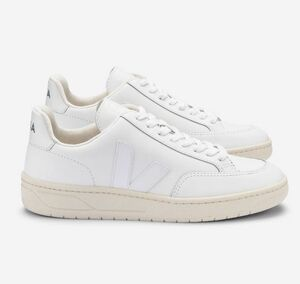 Sneaker Herren - V-12 Leather - Extra White - Veja