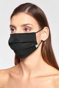 Mund-Nasen-Maske aus Tencel mit Nasenbügel - stoffbruch